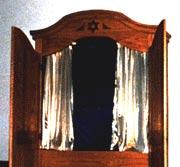 Morris (Sonny) Olcerst's custom-made ark, Temple Beth Shalom