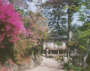 House in Miyajima, Japan.