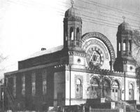 Old New Haven Synagogue.