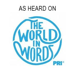 "Eve has been on the radio program ""The World in Words"" multiple times"